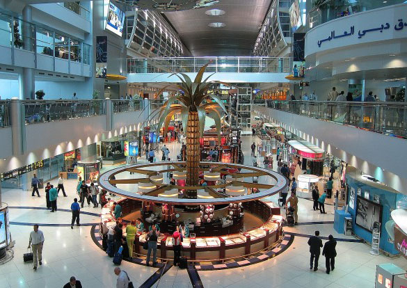 trip to dubai shopping mall