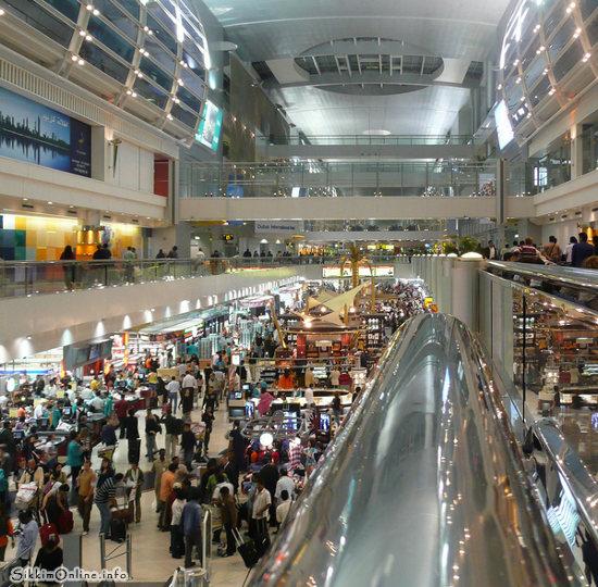 Dubai Airport duty free shop