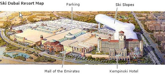 Ski_Dubai_Resort_Map
